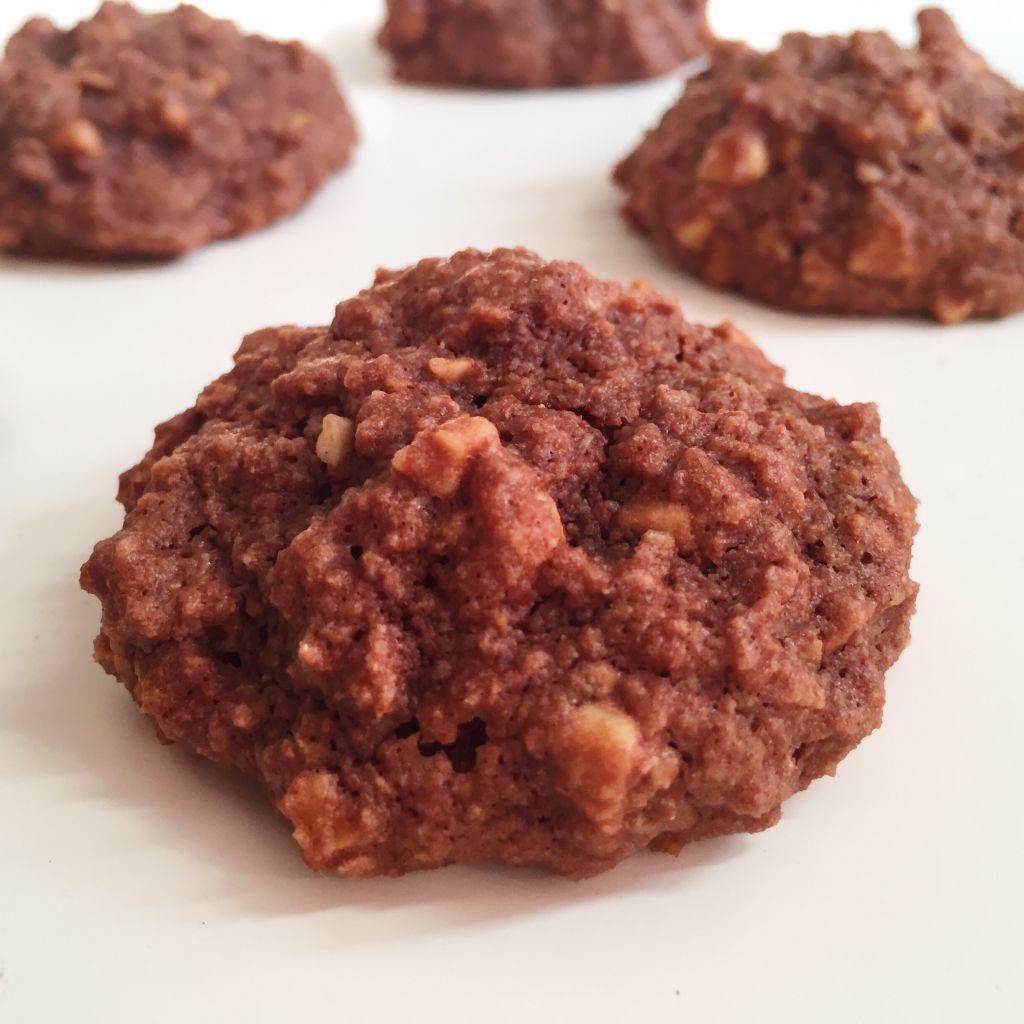Batonnets Au Chocolat Et Aux Cacahuètes: Cookies Chocolat Et Cacahuètes (sans Gluten)